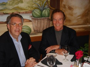 Enjoying Lunch with Client CEO Bob Pennington